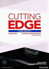 CUTTING EDGE Third Edit 2013 Elementary TEACHER'S RESOURCE BOOK with CD-ROM @New