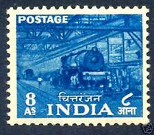 INDIA 1955 - CHITTARANJAN LOCOMOTIVE WORKS MNH. Railway