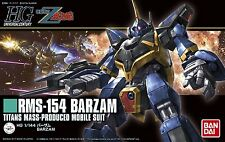 HG UC MSZ-006 Z Gundam RMS-154 Barzam 1/144 model kit #204 Bandai