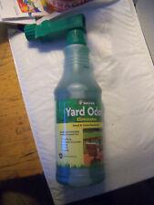 NaturVet Yard Plants Pet Odor Eliminator Concentrated Hose Spray Nozzle 31.6 oz