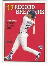 Cody Bellinger Los Angeles Dodgers 2017 Topps Rookie Record  Breakers #TBT /1166