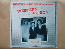 "VINYLE 33 TOURS ROCKABILLY BUDDY HOLLY AND BOB MONTGOMERY "" WESTERN and BOP """
