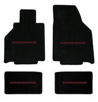 Porsche 944 Floor Mat Set Choose Logo Black Front Logo Only Ebay