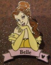 Belle Disney Pin - WDW - Hidden Mickey Collection - Princesses Banner