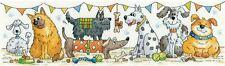 Heritage Crafts Cross Stitch Kit - Dog Show (Aida)