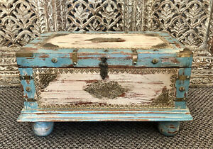 Indian Storage Trunk/ Box, Treasure Chest, Furniture, Home And Living