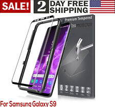 For Samsung Galaxy S9 3D Curve Tempered Glass Protector Case Friendly With Frame