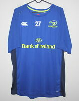 Leinster Rugby Ireland rugby player worn training shirt jersey #27 Canterbury