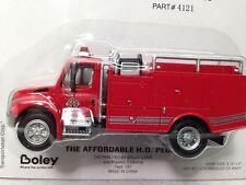 HO 1/87 Boley # 4121-11  Int. Harvester 4300 Single Axle Brush Fire Truck Red