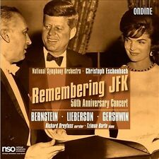 Remembering JFK - 50th Anniversary Concert (CD, May-2011, 2 Discs, Ondine)