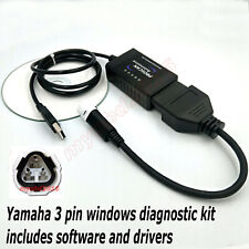 Fits Yamaha OBD fault code scanner diagnostic tool 3 pin - Windows software