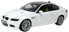 New Motormax -  2008 BMW M3 Coupe Alpine White 1:18 - 73182