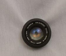 "Olympus OM Zuiko Auto-S 50mm f/1.8 SLR LENS ""made in Japan"" for OM Cameras"