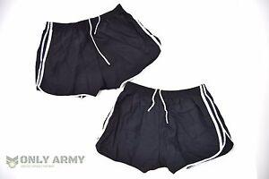 2 x French Army F2 Training Shorts Running PT Summer Sports Jogging Shorts Gym