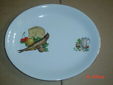 Alfred Meakin Glo White Ironstone Oval Platter Steak Fish Plate #4