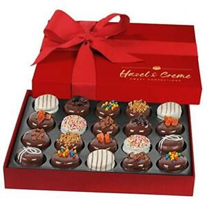 Chocolate Covered Cookie Gift - 20 Pcs - Valentines, Anniversary, Thank You,