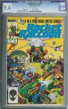 Rocket Racoon #3 Cgc 9.4 White Pages Id: 3006