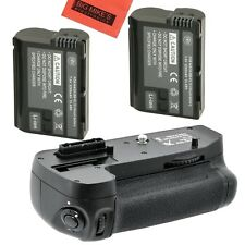 Battery Grip Kit for Nikon D7000 Digital SLR Camera - Includes Qty 2 BM...