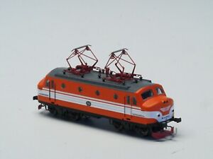 FR Z-scale Swedish SJ Express Locomotive Ra 994, Coreless LED by Freudenreich