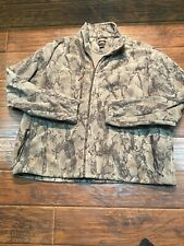 Natural Gear Brushed Fleece Camo Hunting Jacket Full Zip Camouflage Adult 3XL