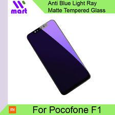 Anti Blue Light Ray Matte Tempered Glass Screen Protector for Xiaomi Pocofone F1