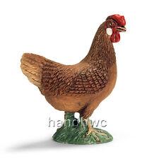 Schleich 13646 Hen Model Farm Animal Toy Female Chicken Figurine - NIP