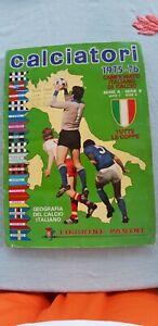Album Calciatori Panini 1975/76 completo