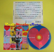 CD CANZONI D'AMORE compilation 97 883 MINA FIORELLO ZARRILLO (C4) no mc lp vhs