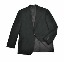 Ermenegildo Zegna Jacket 40R Med Charcoal Grey All Season Blazer Sport Coat