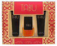 Tabu Eau de Cologne 3-Piece Set for Women by Dana Signature Collection