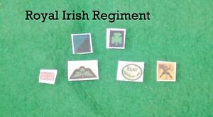 1/6 scale British Royal Irish Regiments Patch lot