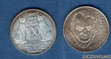 100 Francs – Commémorative – 1997 André Malraux – SUP
