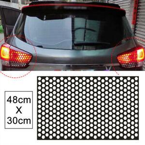 Car DIY Rear Tail Light Honeycomb Sticker Brake Tail Light Decal Car Accessories