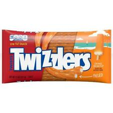 Twizzlers Orange Cream Pop Filled Liquorice 11 oz