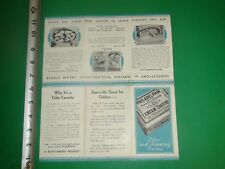 JE280 Antique Undated Philadelphia Cream Cheese Recipe Brochure