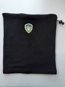 Leeds Thermal Fleeced Neck Warmer For Leeds United Fans - Black
