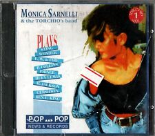 SARNELLI MONICA & THE TORCHIO'S BAND PLAYS CD RARO SEALED ITALY