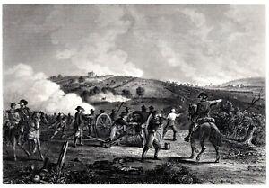 *Original Engraving, Print ~BATTLE OF GETTYSBURG, PA., Civil War