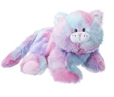 "Ganz Jazzy Kitten Plush Stuffed Animal, Pastel Swirl, 12"""