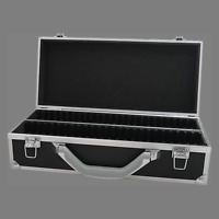 50 Certified Slab Coin Aluminum Storage Box Black