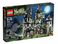 Lego 9468 Monster Fighters VAMPYRE CASTLE bride manbat hero car NISB