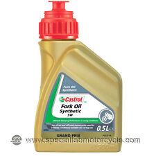 1 Litro Olio  Forcella Castrol 5W Synthetic