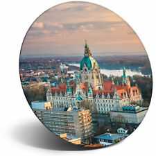 Awesome Fridge Magnet - City Hall Hanover Germany Cool Gift #3197