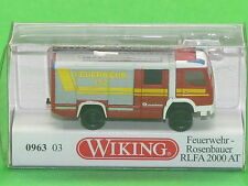 1:160 Wiking 096303 Feuerwehr Rosenbauer RLFA 2000 AT Blitzversand per DHL-Paket