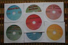 7 CDG DISCS 1980S LIGHT ROCK SUPERSTAR KARAOKE MUSIC HITS - PHIL COLLINS CD+G
