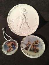 Goebel Hummel Collector's Club Member Disks and Ornament