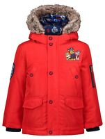 Red Paw Patrol 3-in-1 Shower Resistant Padded Coat 1-1.5 1.5-2 2-3 Years Boys