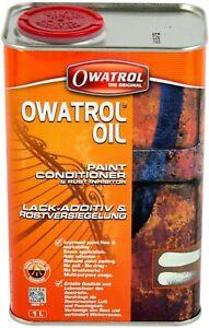 OLIO ANTIRUGGINE PENETRANTE 1 LT ADDITIVO PER PITTURE PRIMER OWATROL OIL