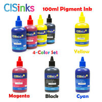 PIGMENT Ink Refill Bottles alternative for Epson WF-2760 WF-2750 WF-2660 WF-2650