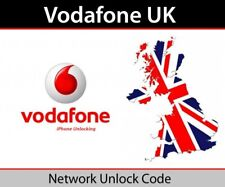 Vodafone UK official factory unlock iPhone 3GS 4 4S 5 5S 5C 6 Only